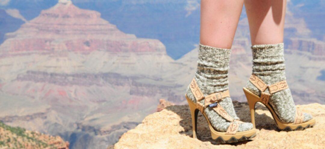 Heels and Tevas