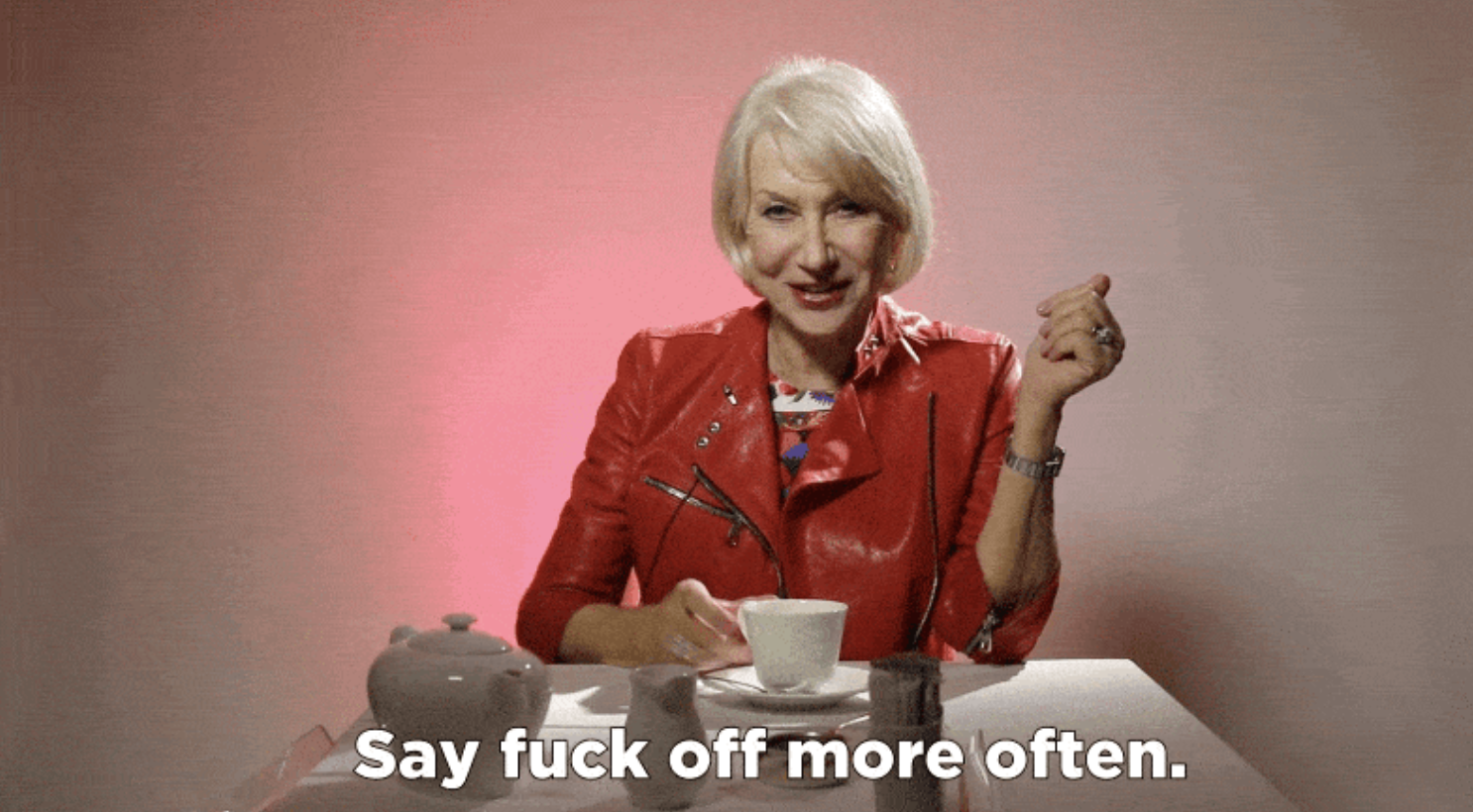 My Girl-Crush, I love Helen Mirren